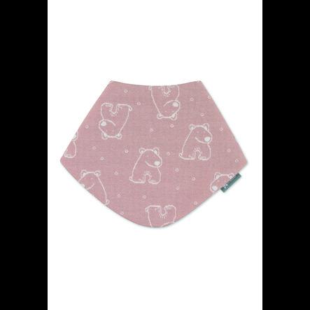 Sterntaler Driehoekige sjaal roze