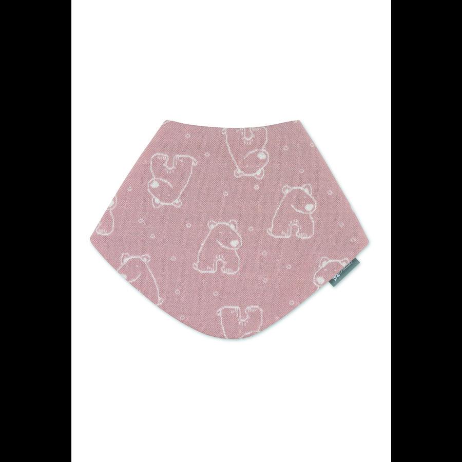 Sterntaler Trojúhelníková šála růžová