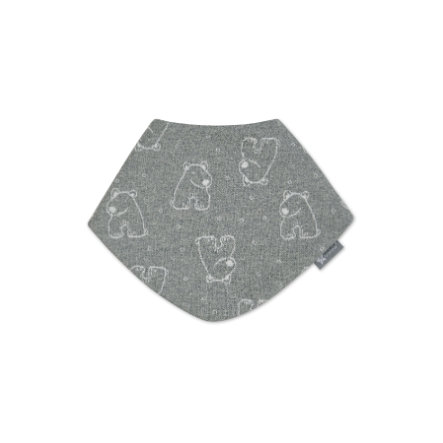 Sterntaler Dreieckstuch silber melange