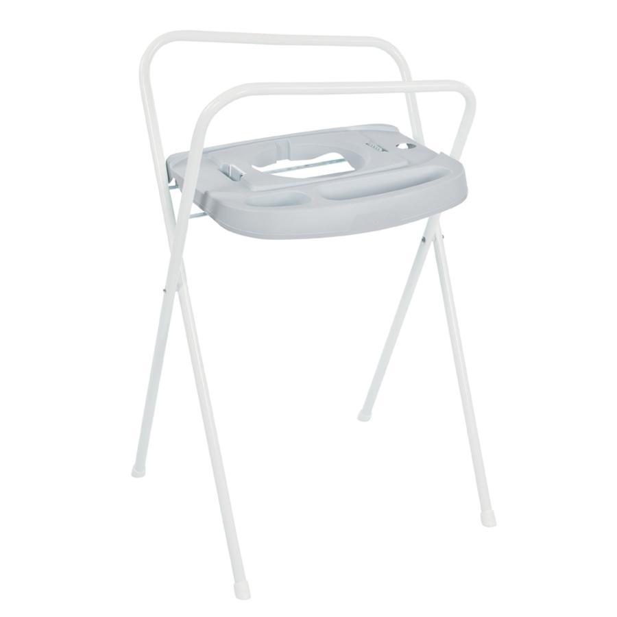 bébé-jou ® Badestativ Click i lysegrå 103 cm