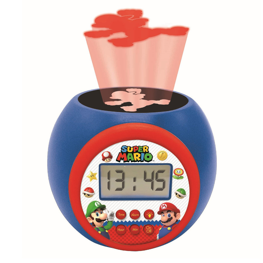 LEXIBOOK Super Mario Projectie Wekker