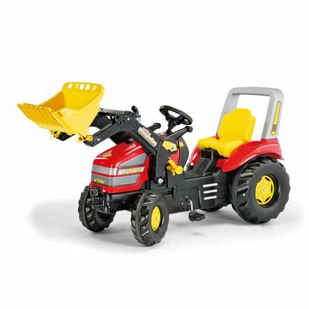 ROLLY TOYS X-Trac Šlapačí traktor s čelním nakladačem