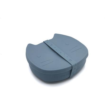 the cotton cloud Brotdose aus Silikon Pippa Smokey Blue