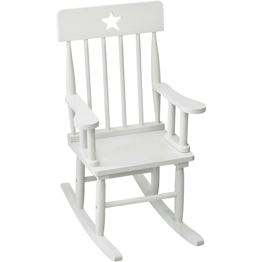 KIDS CONCEPT Rocking Chair Star, white