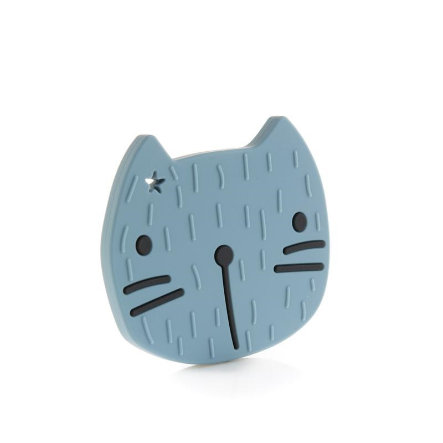 the cotton cloud Beissring Pippa the Cat in Smokey Blue