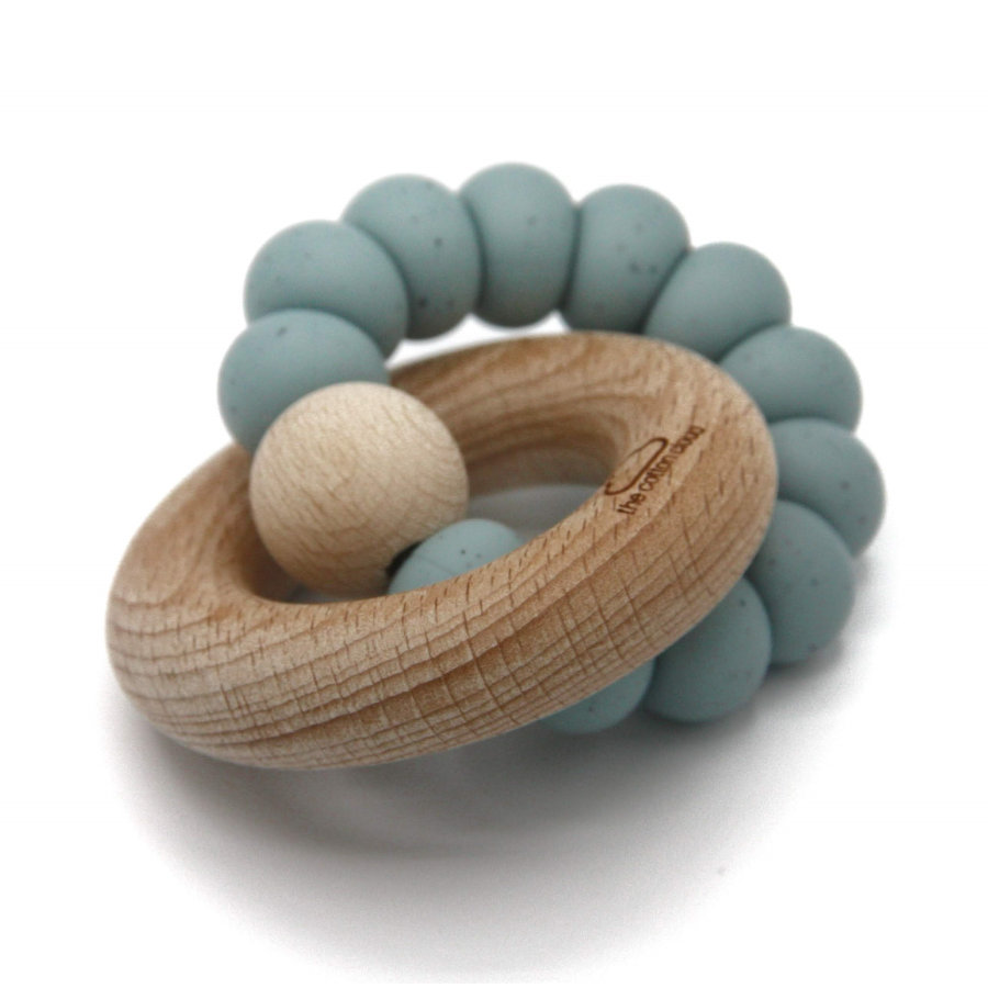 the cotton cloud Beissring Round aus Silikon Jade