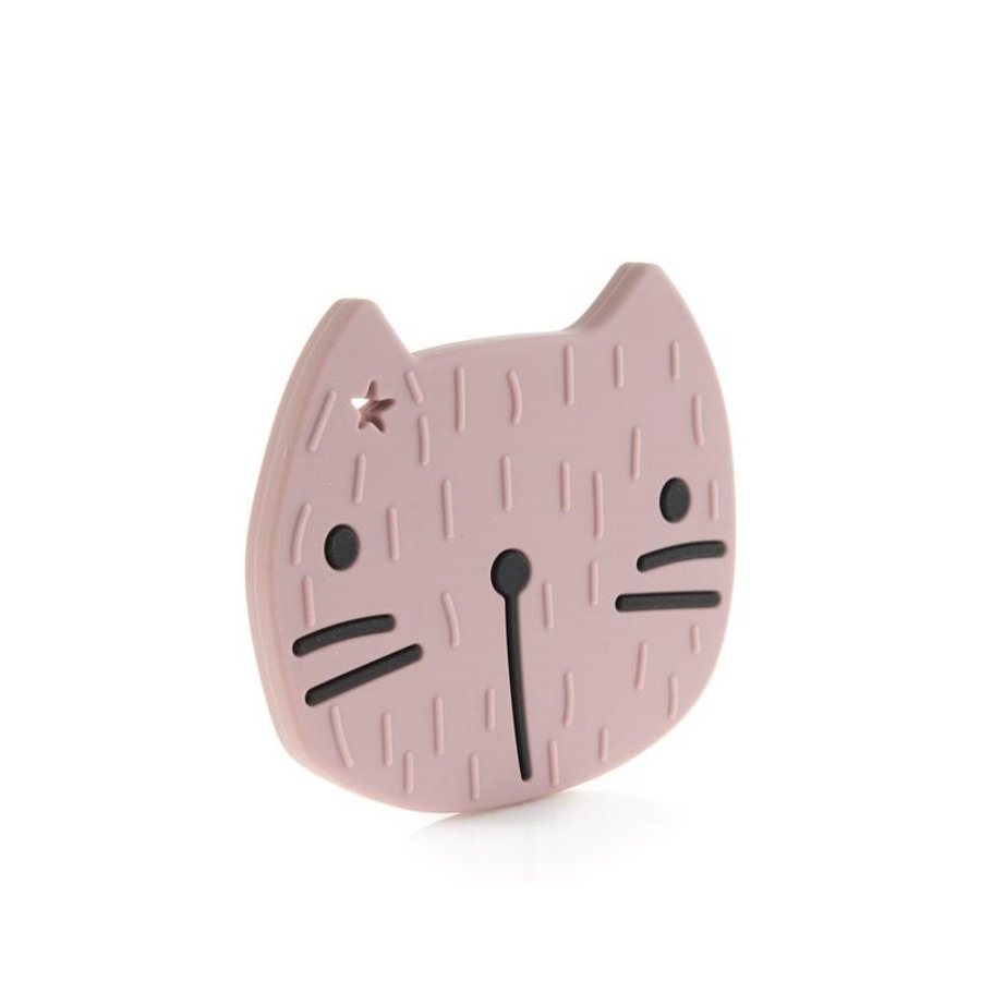 the cotton cloud Beissring Pippa the Cat in Dusty Pink