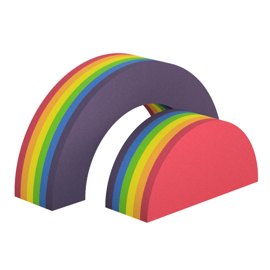 bObles® Rainbow Collection Regenbogen 34 cm, bunt