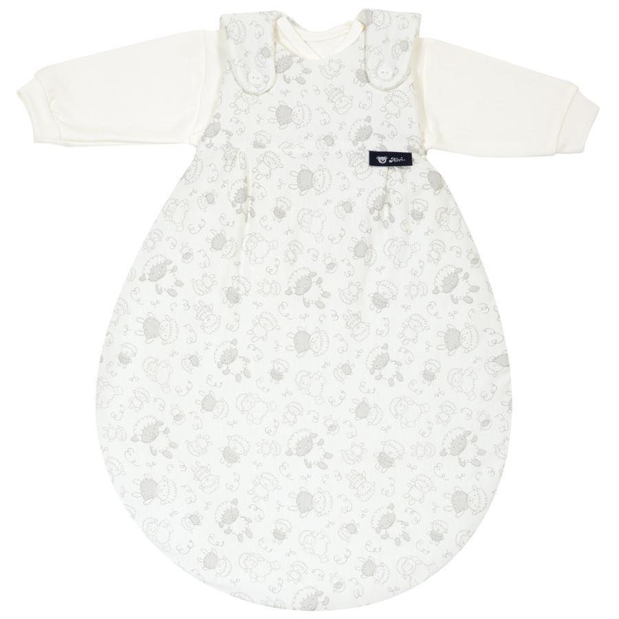Alvi Saco de dormir Baby-Mäxchen® - El Original 3 piezas - Oveja beige, Talla 56 / 62