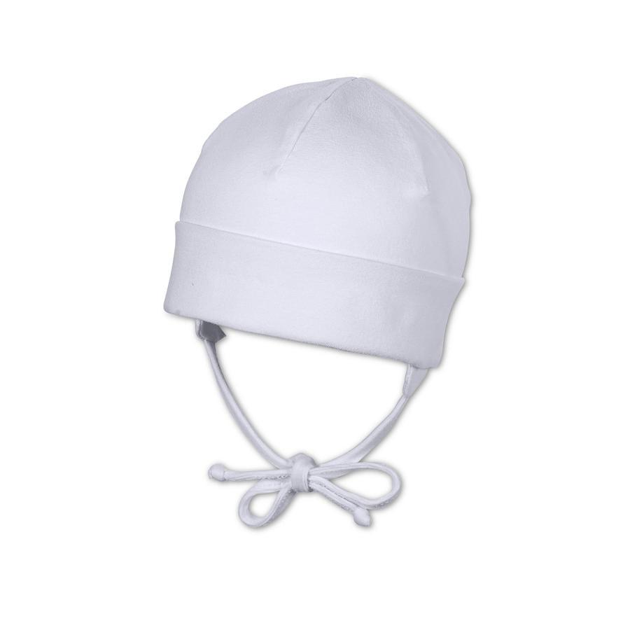 STERNTALER Dětská čepice, bílá
