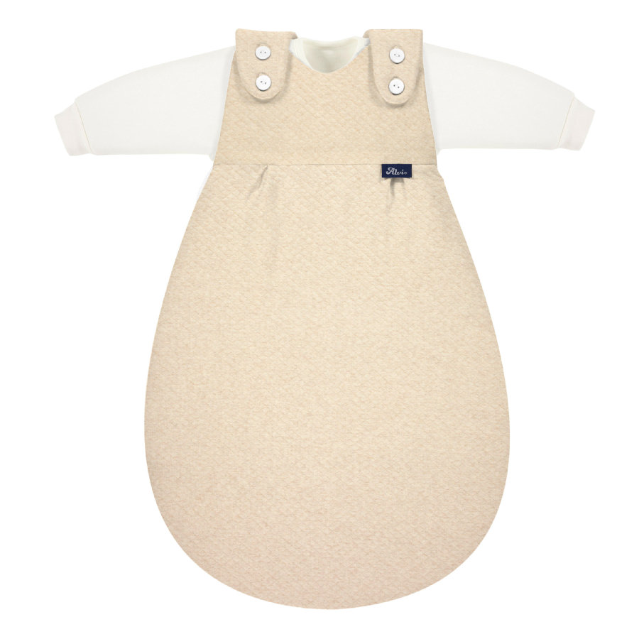 Alvi ® Baby-Mäxchen® 3st. Speciale Stoffen Quilt nature