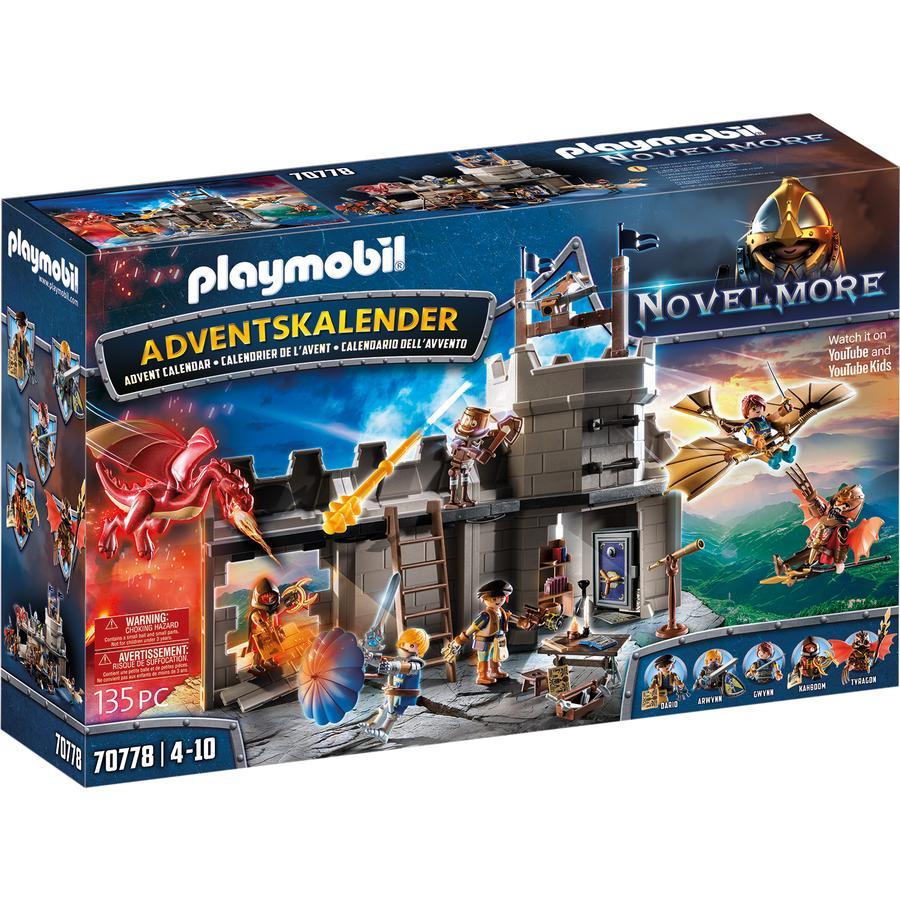 PLAYMOBIL  ® adventskalender Novelmore, 70778