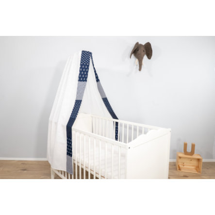 Ullenboom Baby Betthimmel & Baldachin 135x200 cm Anker Blau