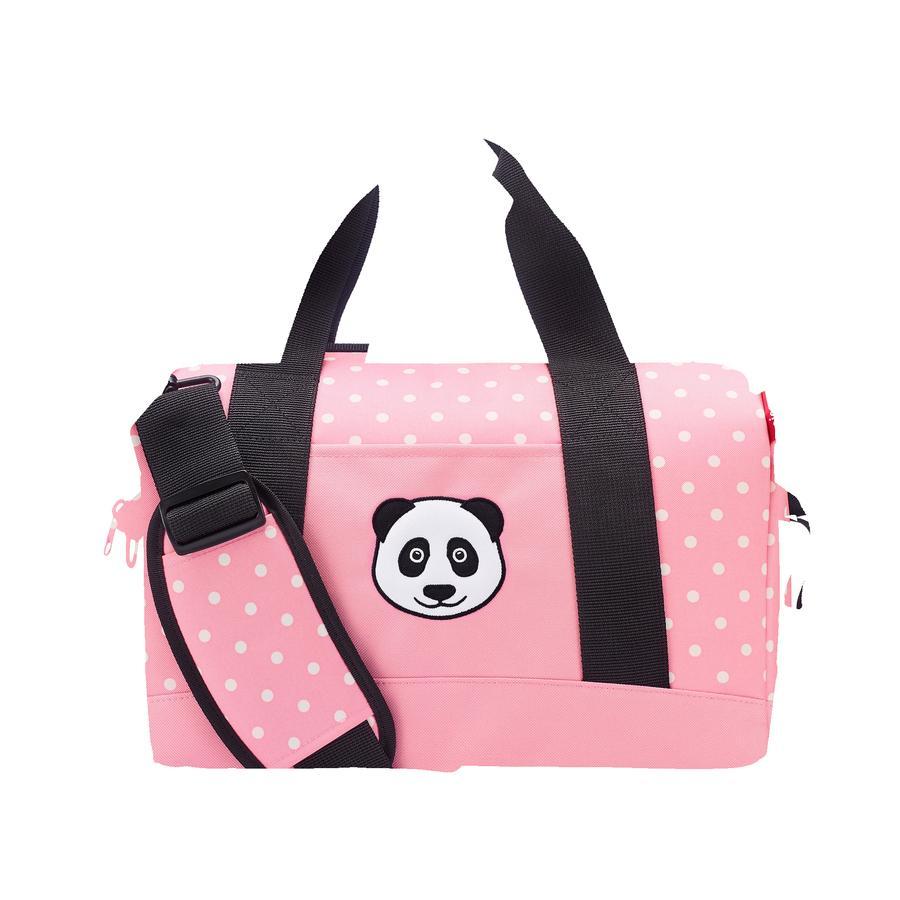 reisenthel® allrounder M kids panda dots pink