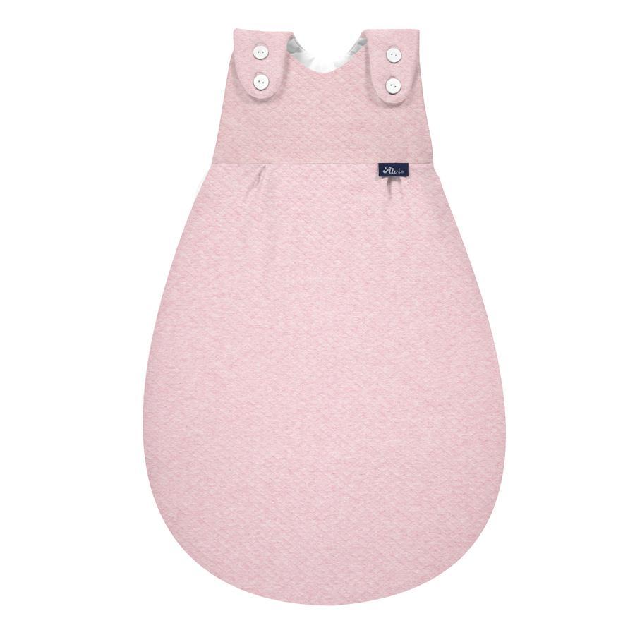 Alvi® Baby-Mäxchen® Außensack Special Fabric Quilt rosé