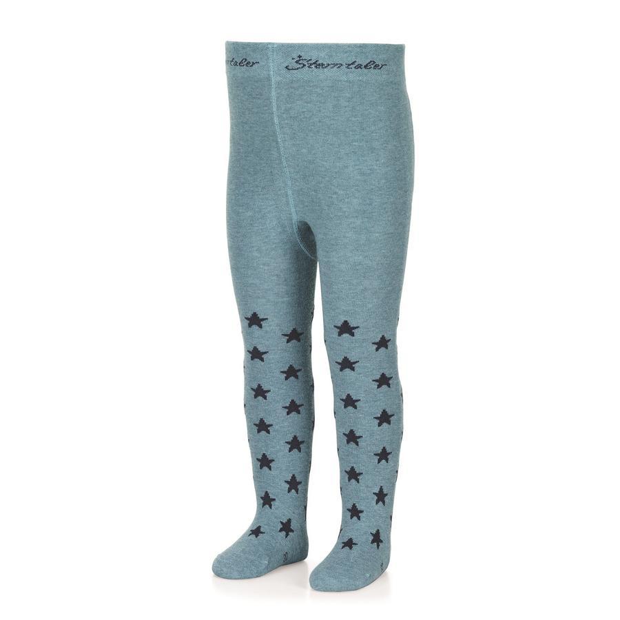 Sterntaler Panty sterren donker turkoois