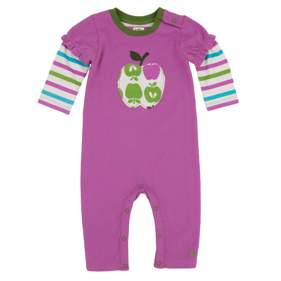 HATLEY Girls Baby Overall ORCHARD APPLES