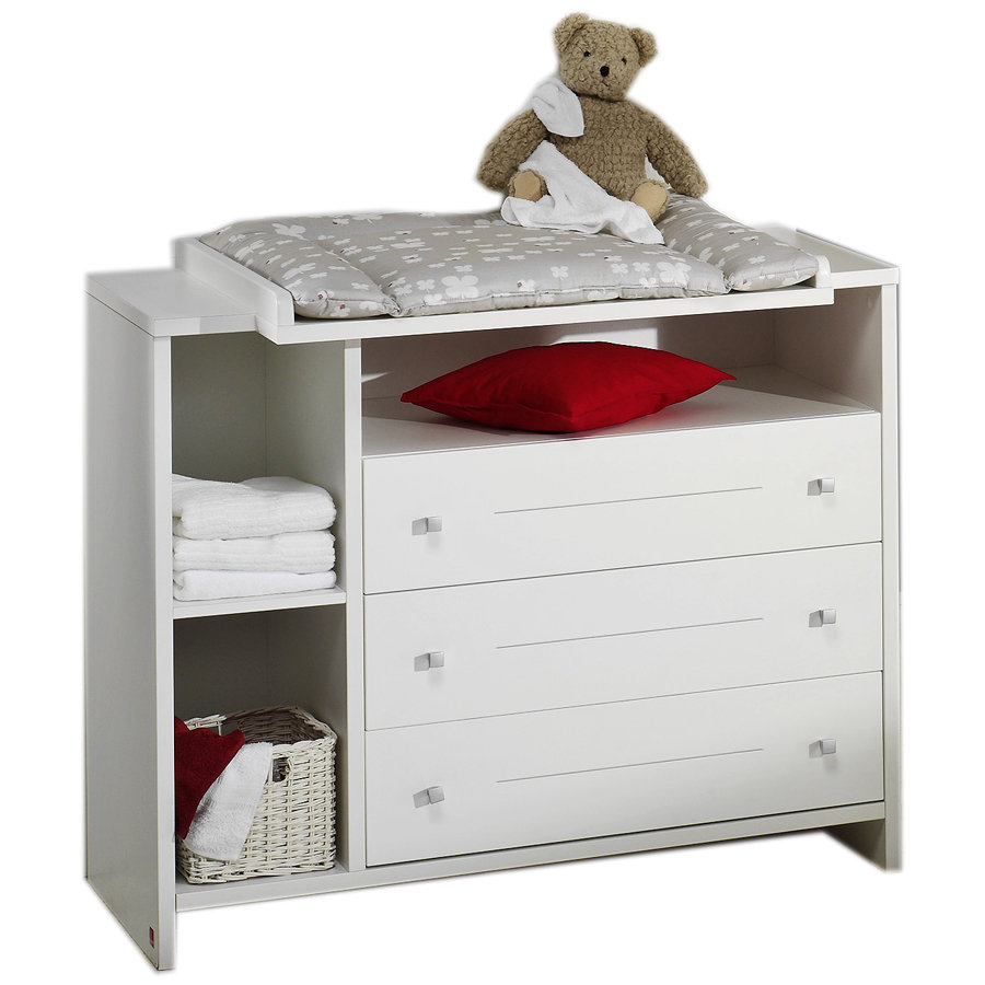schardt wickelkommode mit wickelaufsatz eco stripe baby. Black Bedroom Furniture Sets. Home Design Ideas