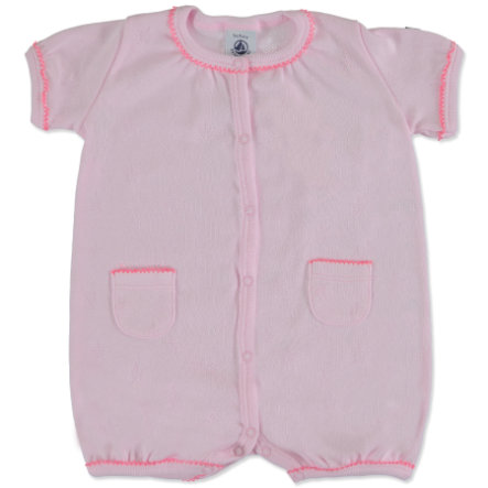PETIT BATEAU Girls Baby Pagliaccetto, rosa
