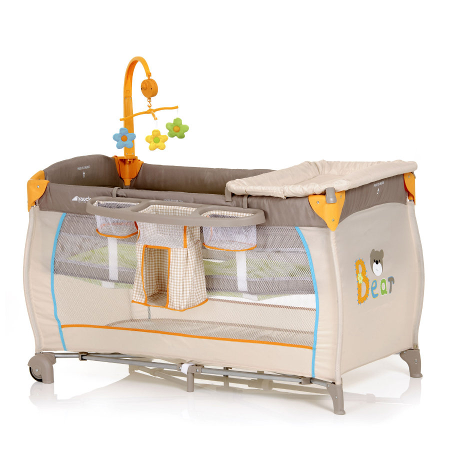 HAUCK Travel Cot Babycenter Bear Collection 2014/15