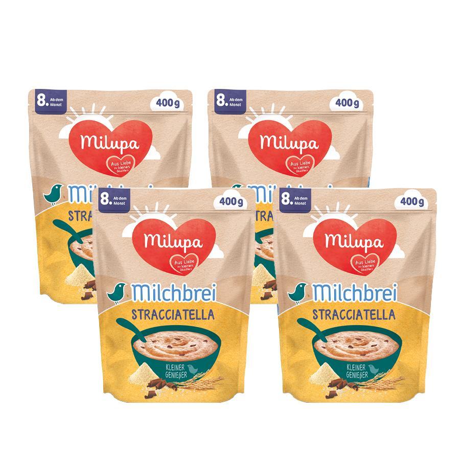 Milupa Milchbrei Stracciatella Kleine Genießer 4 x 400 g ab dem 8. Monat