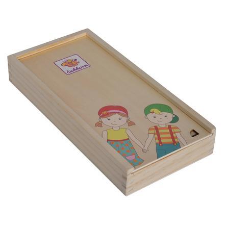 Eichhorn Körperpuzzle mit Holzbox