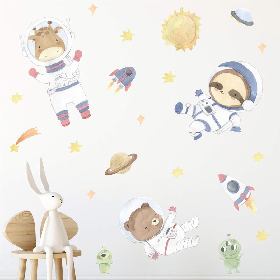 Hakuna Matte Stickers muraux XXL Little Astronauts