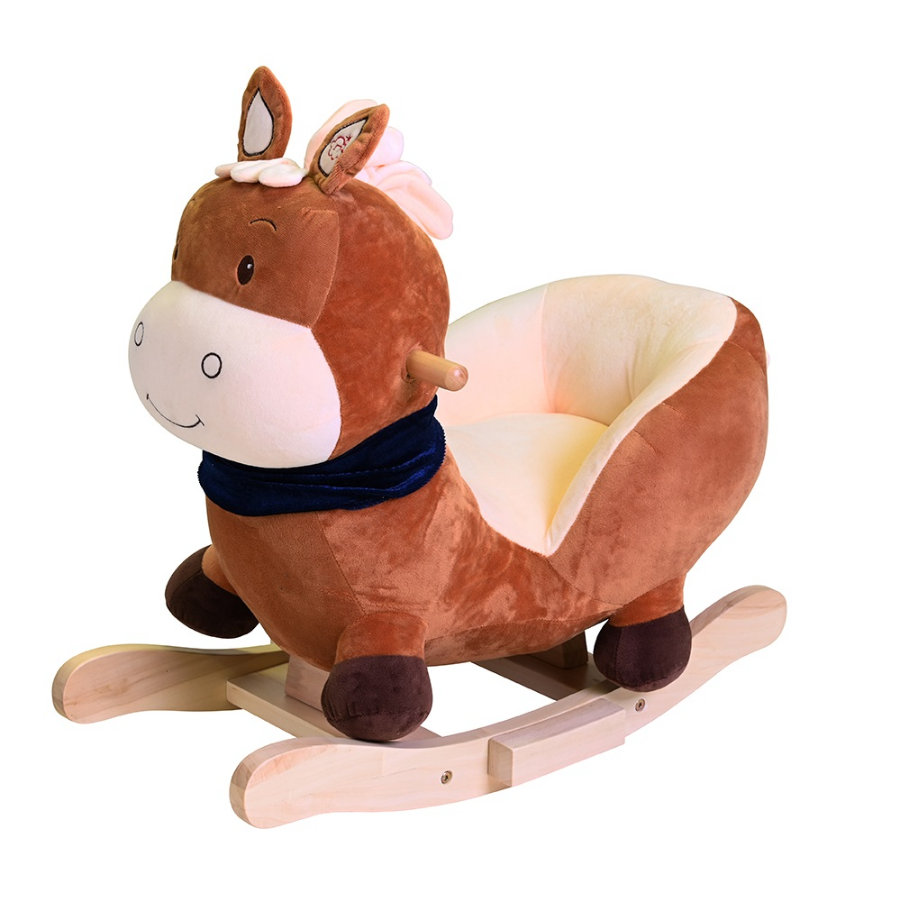 """knorr® toys Schaukeltier """"Seppl"""" Pferd braun"""