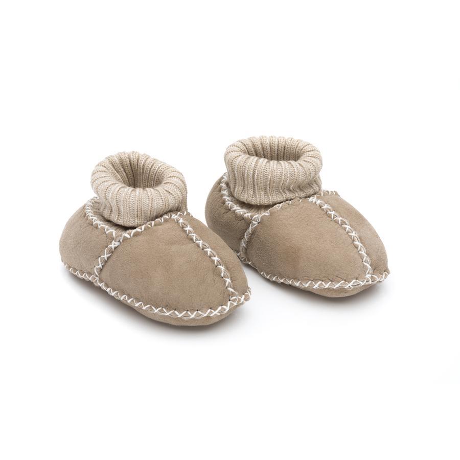 fillikid Babylammfell Schuhe natur