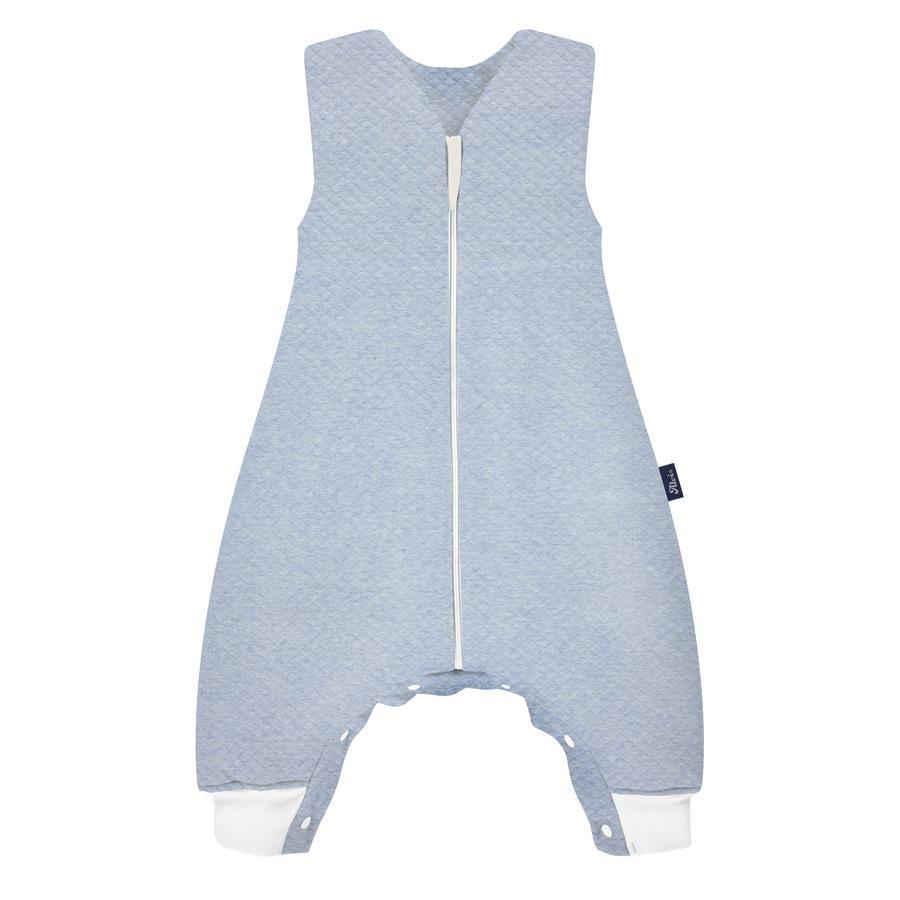 Alvi ® Sleep-Overall Special Fabric Quilt aqua