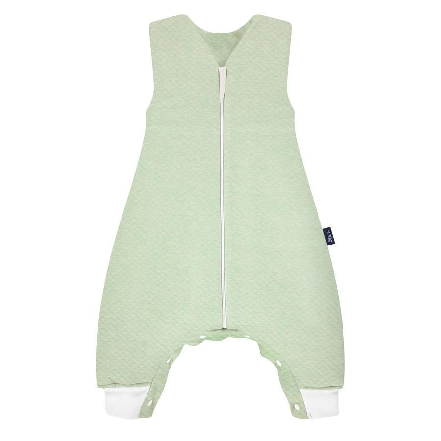Alvi® Sleep-Overall Special Fabric Quilt türkis