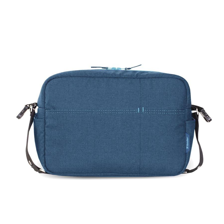 X-lander Wickeltasche X-Bag Petrol Blue