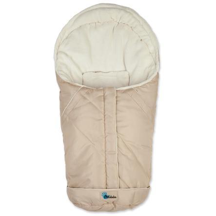 Altabebe Winterfußsack Nordic für Babyschale Größe 0+ beige-whitewash