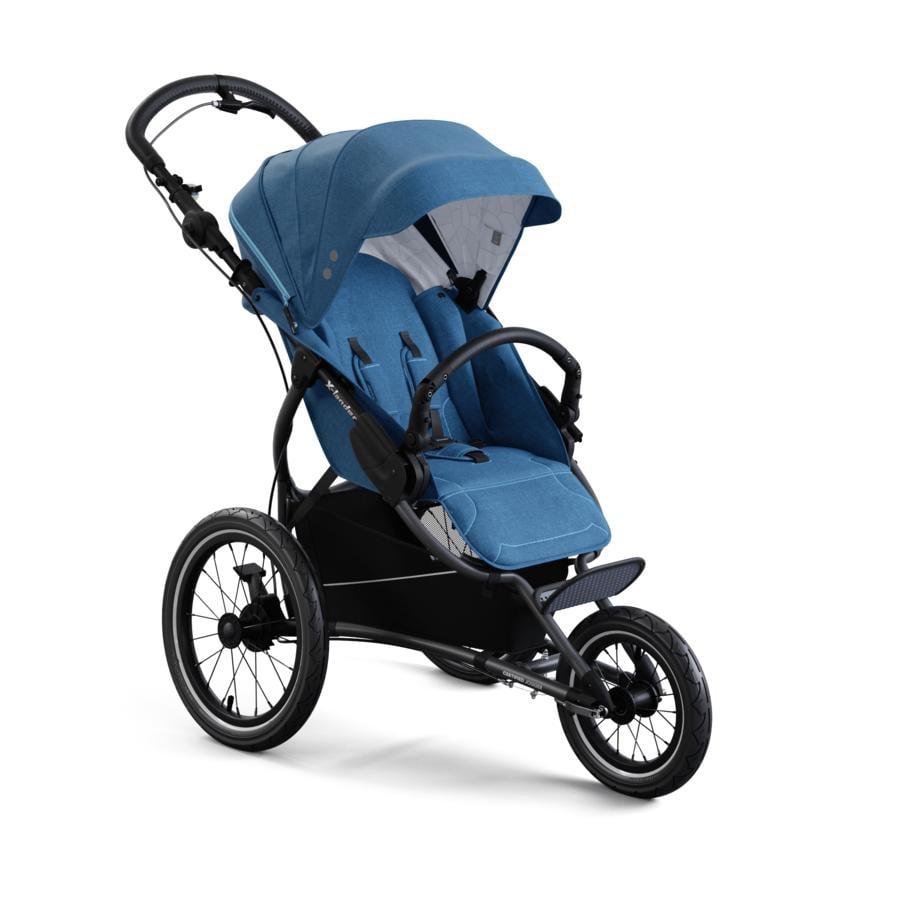 X-lander Jogger Kinderwagen X-Run Petrol Blue