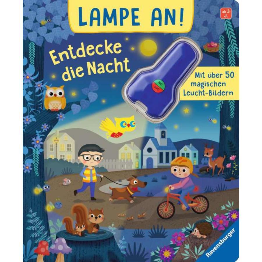 Ravensburger Lampe an! Entdecke die Nacht