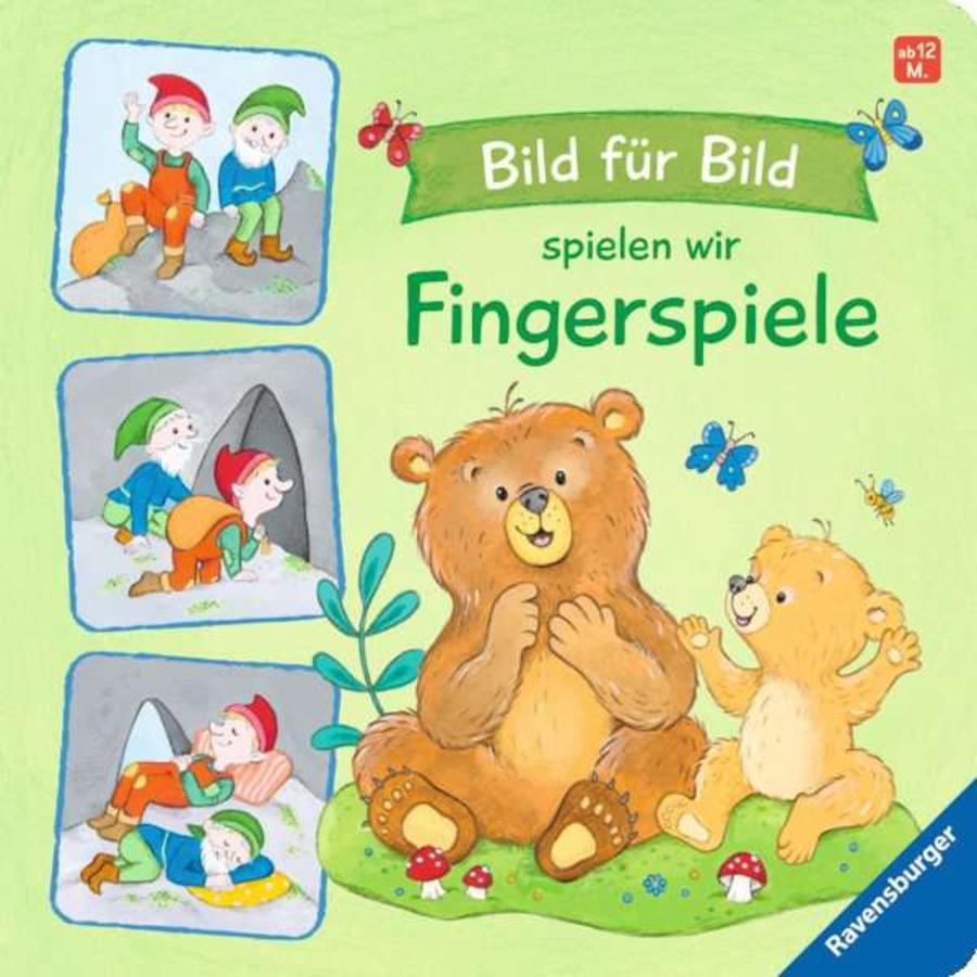 Ravensburger Bild für Bild spielen wir Fingerspiele