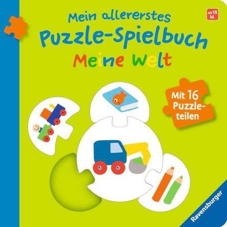 Ravensburger Mein allererstes Puzzle-Spielbuch: Meine Welt