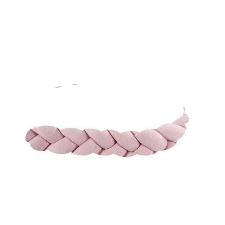 Alvi ® Nest Slang Gevlochten Speciale Stof Quilt rosé