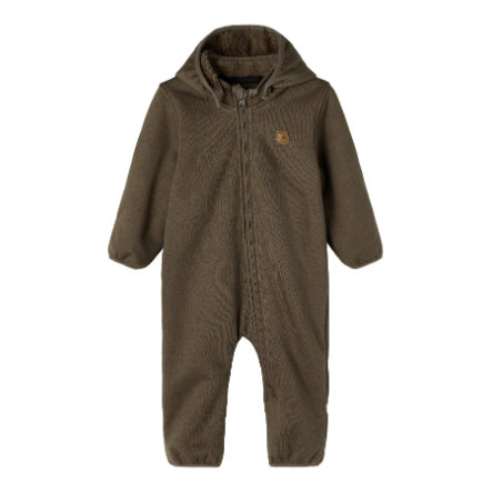 name it Softshell Suit Nbnmada Chocolate Chip
