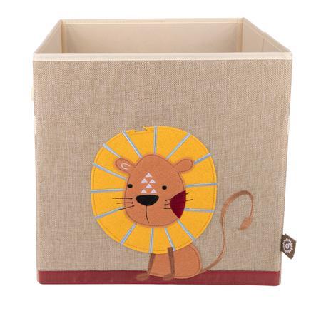 bieco Boîte de rangement enfant lion, nature 32 cm