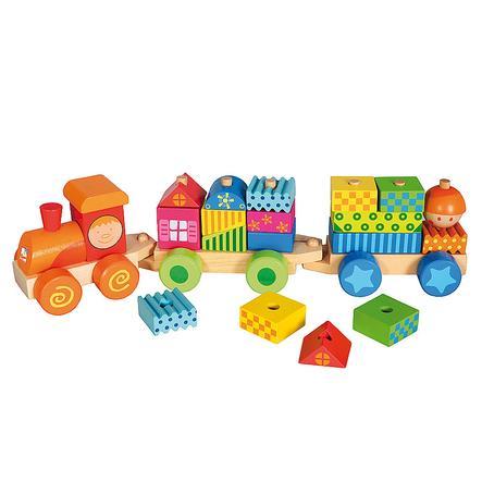 BINO Train avec cubes