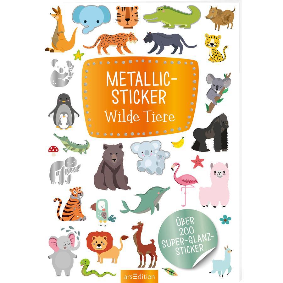 arsEdition Metallic Sticker Wilde Tiere