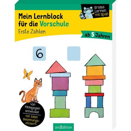 arsEdition Mein Lernblock für die Vorschule Erste Zahlen