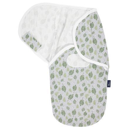"Alvi ® Wrap ""Harmony"" Organic Cotton Drifting Leaves"