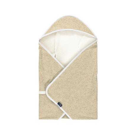 Alvi ® Koc podróżny Specjalna tkanina konopna nature