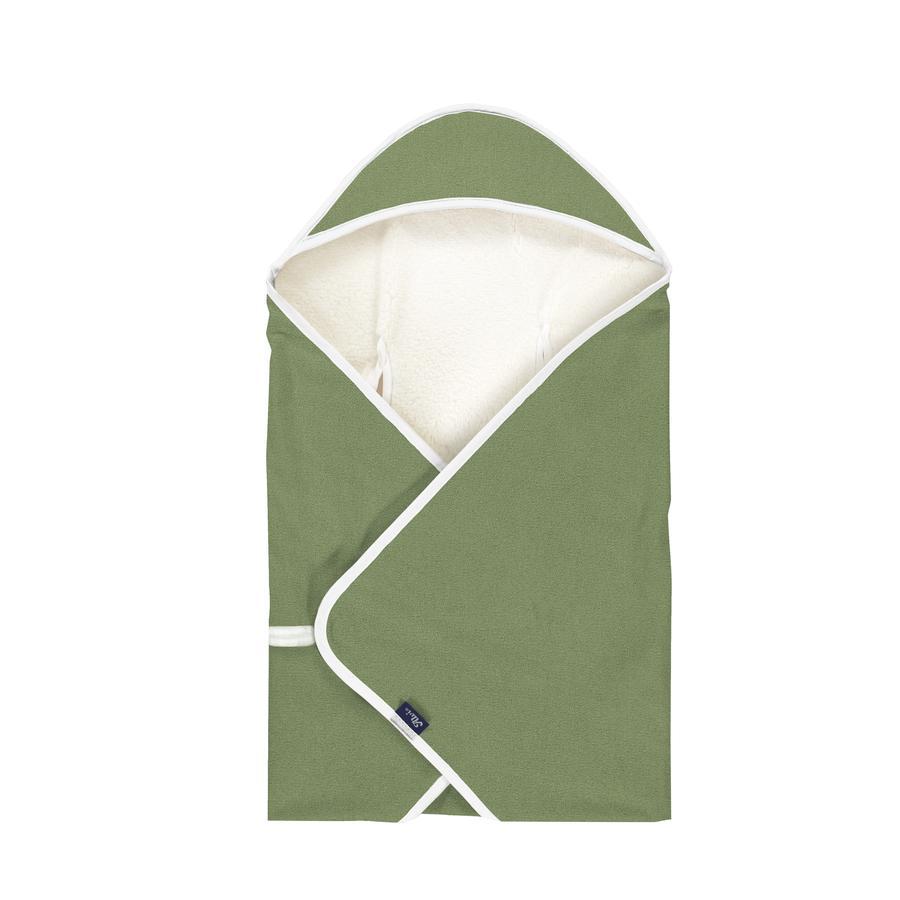 Alvi® Reisedecke Special Fabric Felpa Nap green