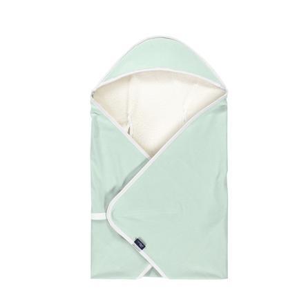 Alvi® Couverture de voyage Special Fabric Felpa Nap mint 80x80 cm