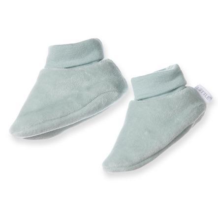LITTLE Schuhe uni grün