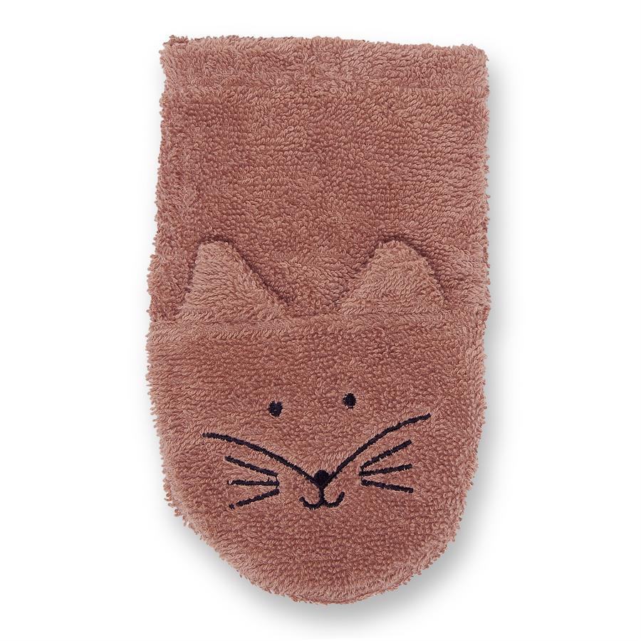 LITTLE Waschhandschuh Fuchs rouge