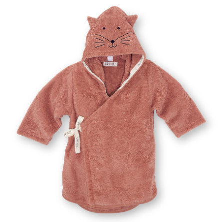 LITTLE  Badjas Fox rouge